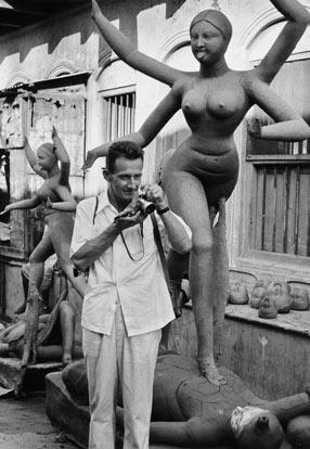 Marc Riboud. Calcutta, 1956