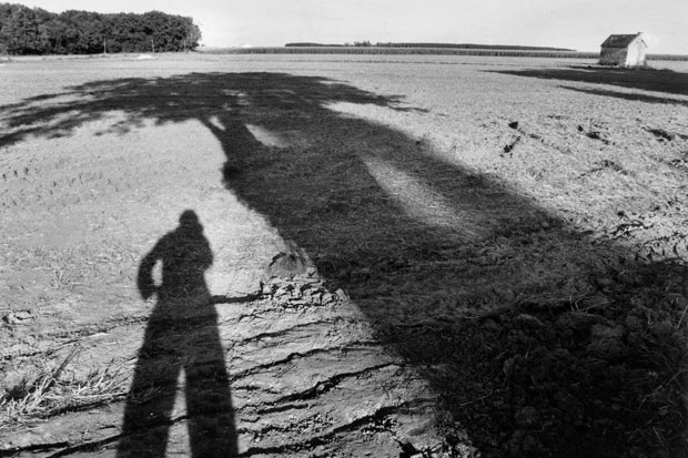 Marc Riboud Autoportrait Touraine 2008