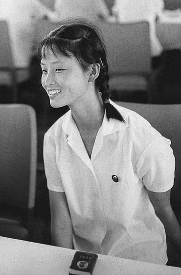 Marc Riboud Danseuse du ballet de Shanghai Chine 1971