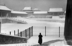 Marc Riboud Forbidden City under the snow, Beijing, China, 1957