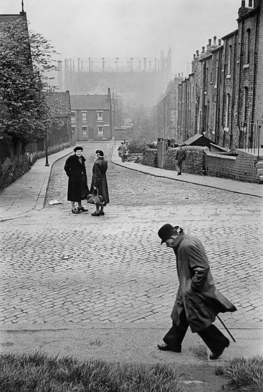 Marc Riboud Leeds Angleterre 1954