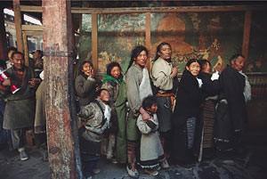 Marc Riboud Lhassa Tibet 1985