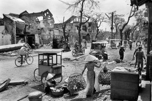 Hue, Vietnam, 1968. The city was almost entirely destroyed by the battle.