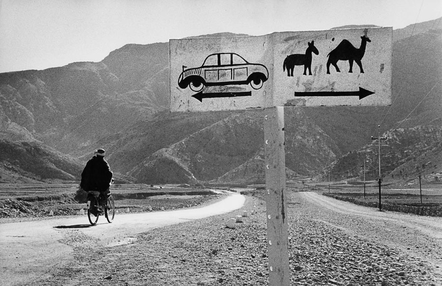 Afghanistan, 1956. When I reached the Khyber Pass, I hesitated. And since I travel slowly, I think I took the right-hand lane.