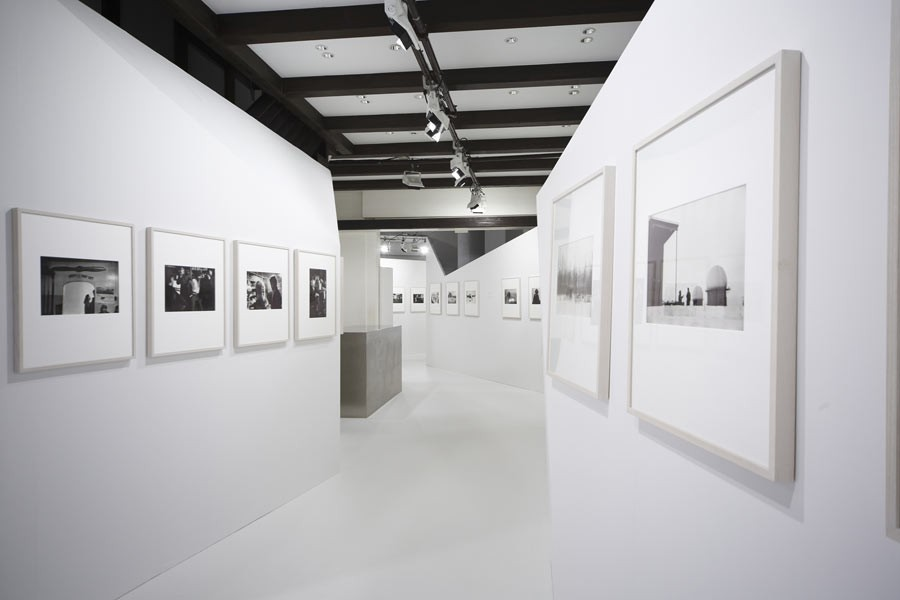"View of the exhibition ""Alaska"" at Kyotographie festival, Kyoto, 2015 © Chanel Nexus Hall"
