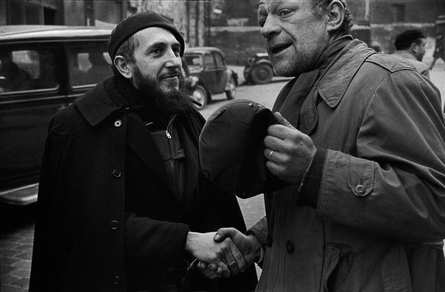 Abbé Pierre, Paris, 1954