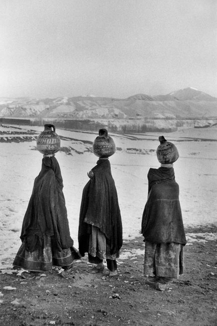 In front of Bamyan valley, Afghanistan, 1955