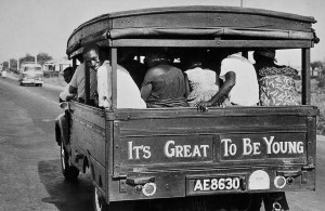 """It's great to be young"", Ghana, 1960"