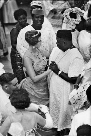 Son Altesse royale la princesse Alexandra à Lagos, lors de l'accession du Nigeria à l'indépendance, 1960
