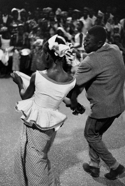 Célébration de l'indépendance à Conakry, Guinée, 1960