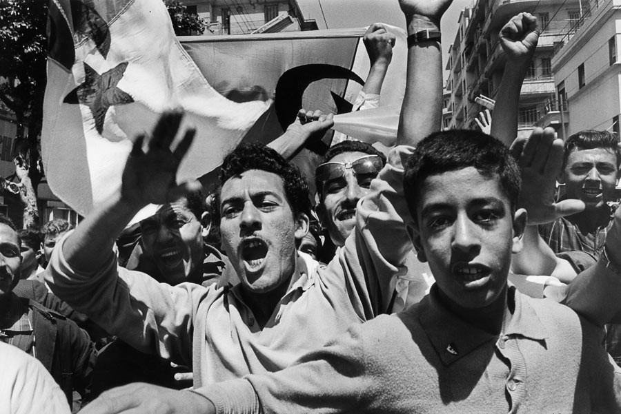 Celebration of the independance, Algiers, July 2nd 1962