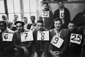 Vote in a company, Algiers, 1963