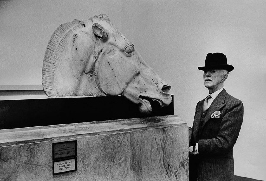 British Museum, Londres, 1954