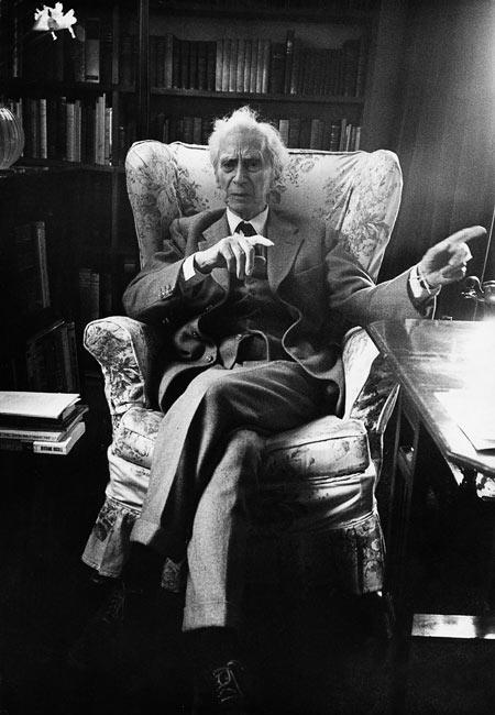 Bertrand Russell (Prix Nobel de littérature en 1950), 1962