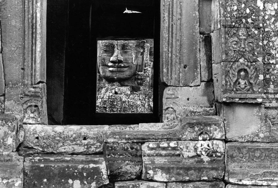Bàyon, terrasse supérieure, 1990