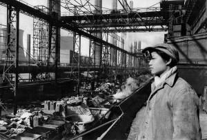 Factory, Anshan, 1957