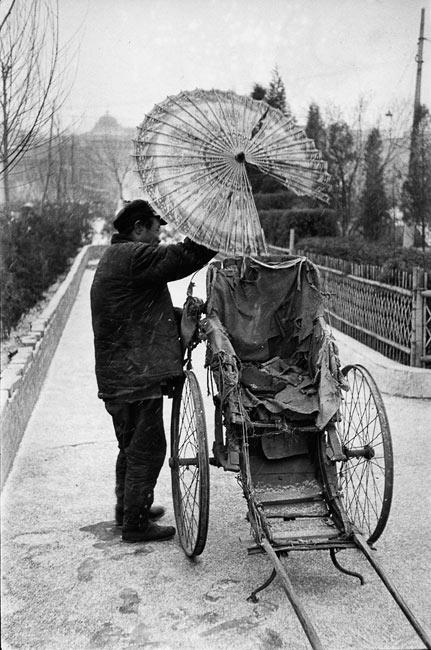 Pousse-pousse à Pékin, 1957