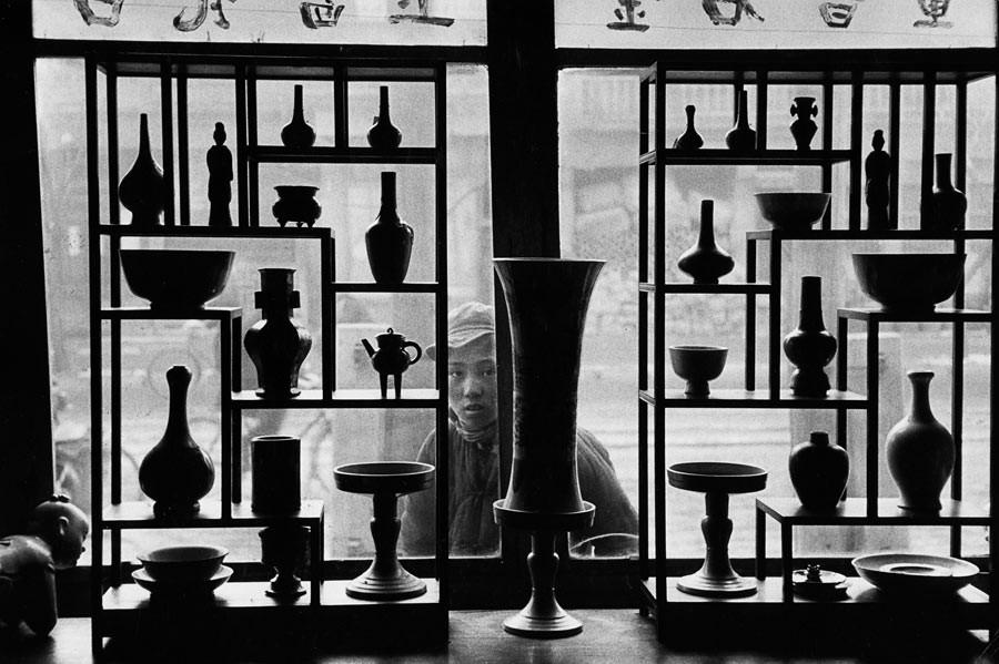 Magasin d'antiquités, Pékin, 1957
