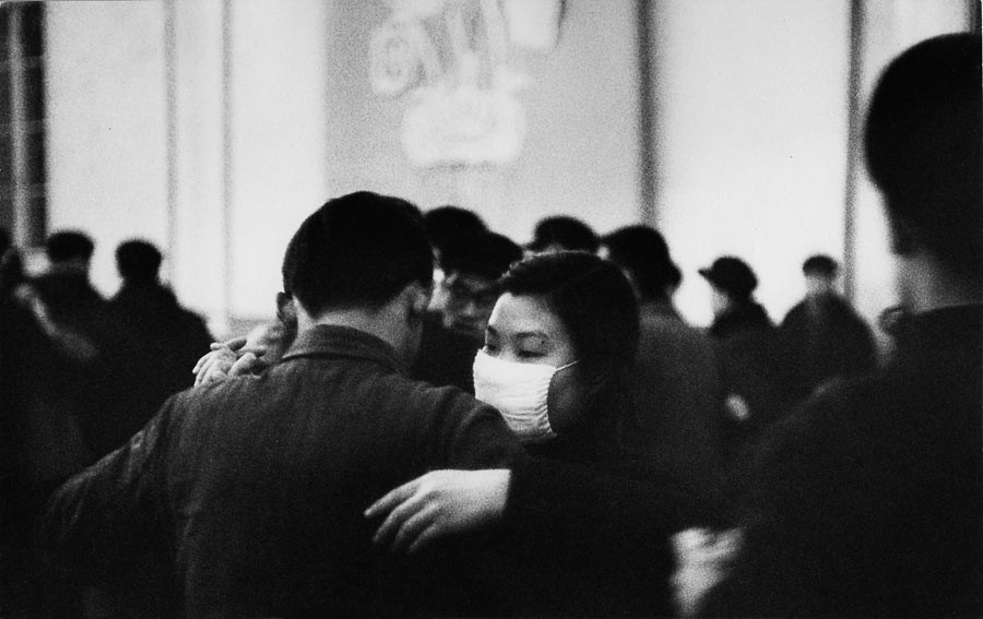 Bal à Beida, l'université de Pékin, 1957