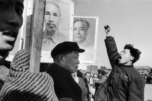 Manifestation contre la guerre au Vietnam, Pékin, 1965