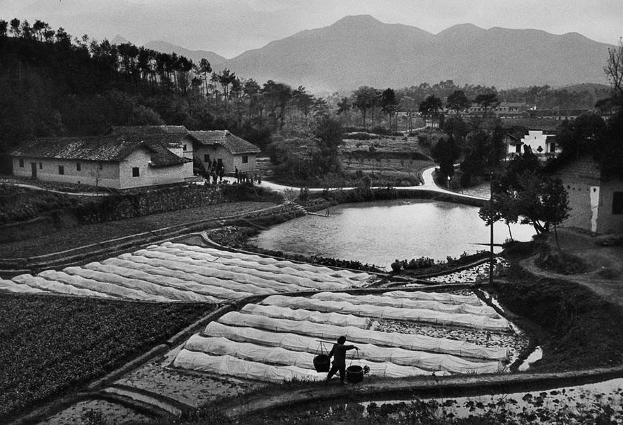 Shaoshan, village natal de Mao Zedong, 1965