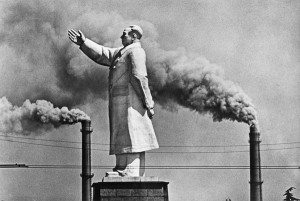 Statue de Mao Zedong à Wuhan, 1971