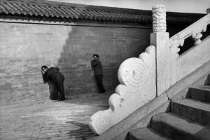 Jeu d'échos au temple du Ciel, Pékin, 1983