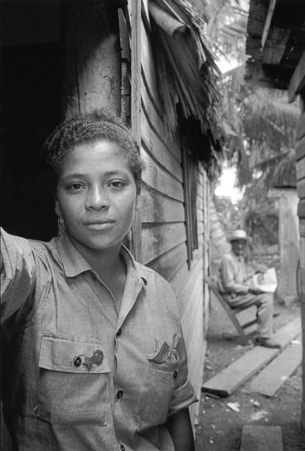Guard, Guamo village, 1963