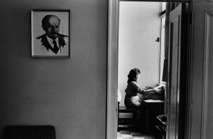 Portrait of Lenin in an office, Havana, 1963