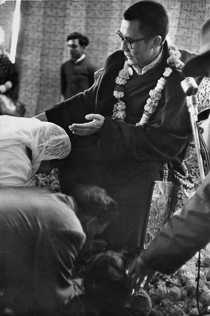 Dalaï Lama in India, 1956
