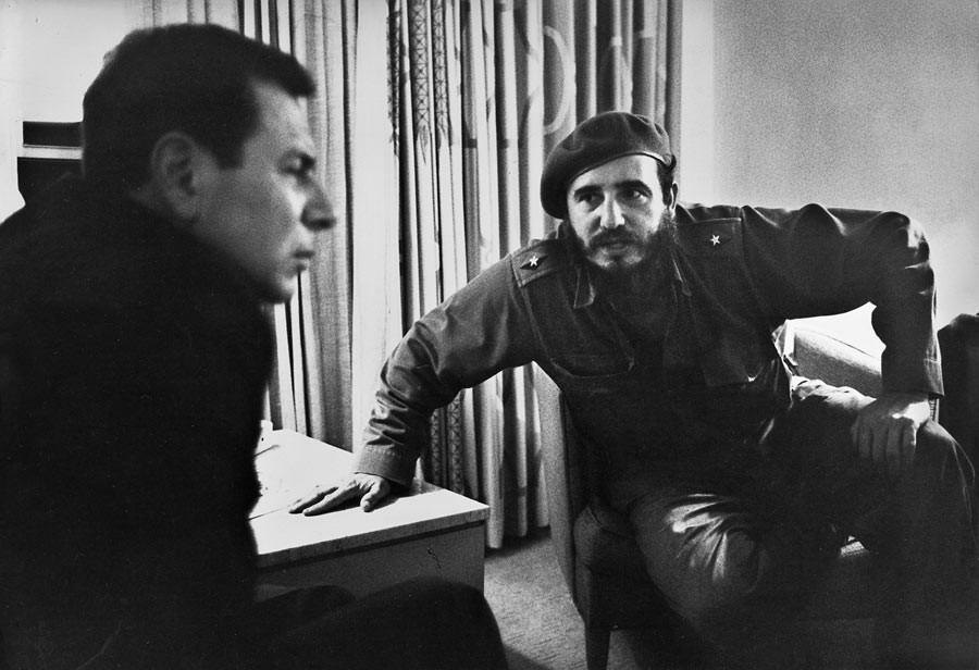 Fidel Castro interviewed by Jean Daniel. Havana, Cuba, November 1963