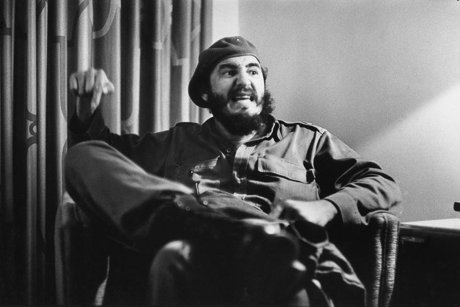 Fidel Castro interviewé par Jean Daniel, La Havane, Cuba, novembre 1963