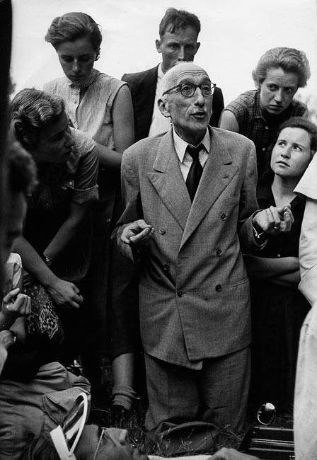 François Mauriac, France, 1953