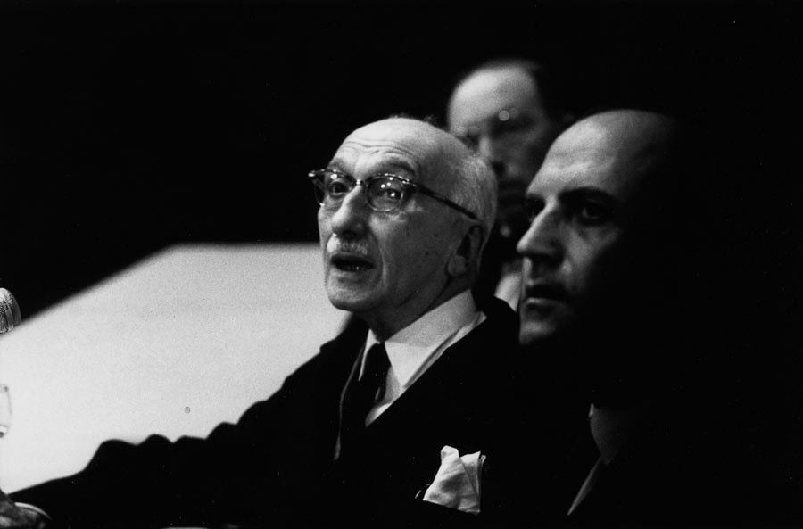 François Mauriac, France, 1965
