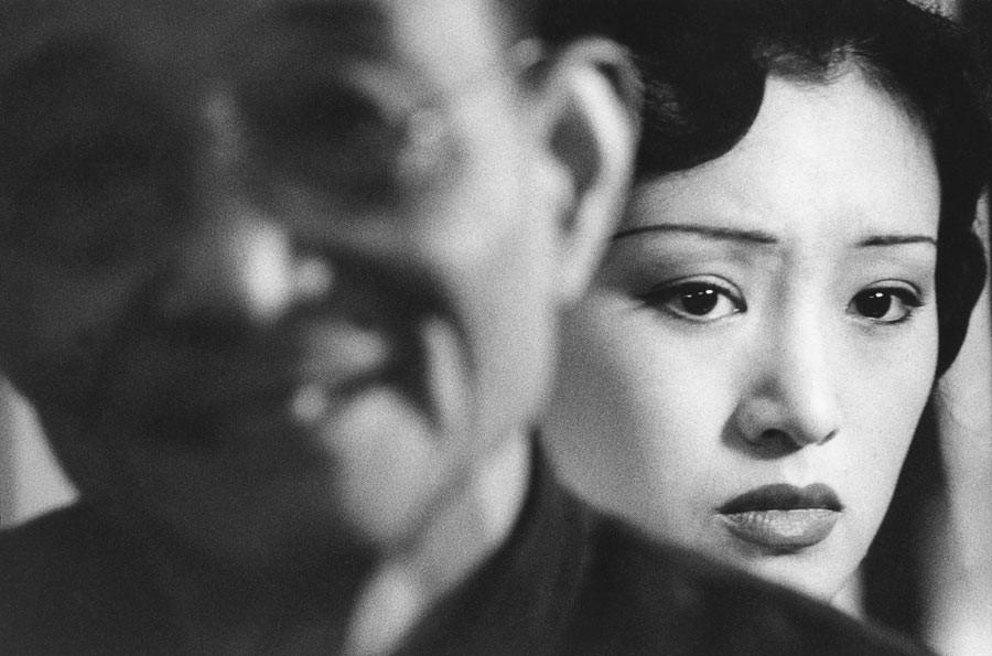 Gong Li, Chine, 1994