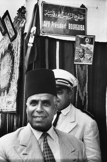 Habib Bourguiba, Tunisia, 1957