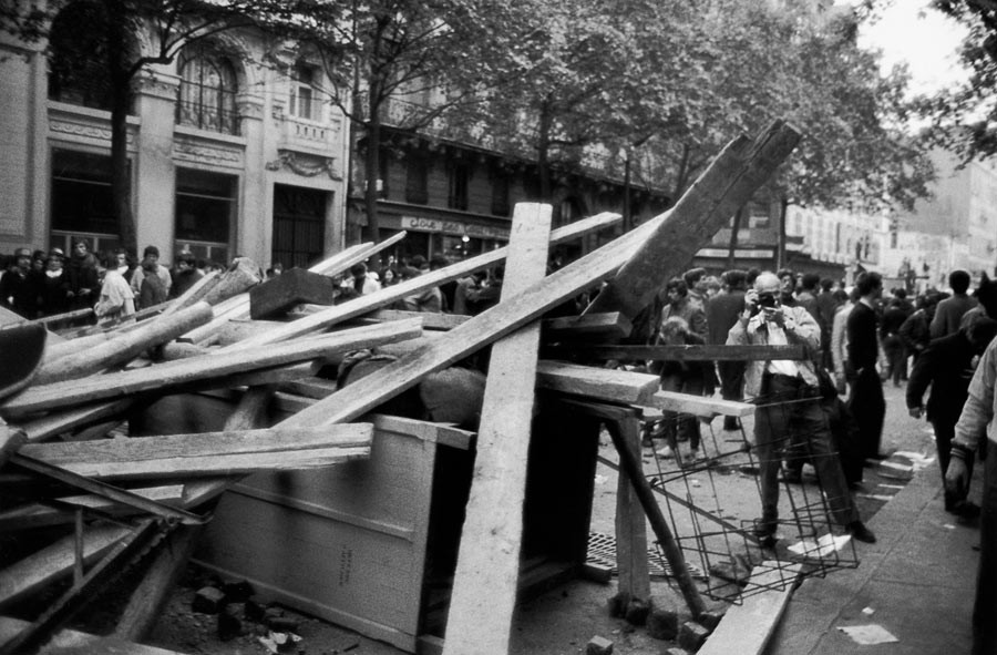 Henri Cartier Bresson, Paris, mai 1968