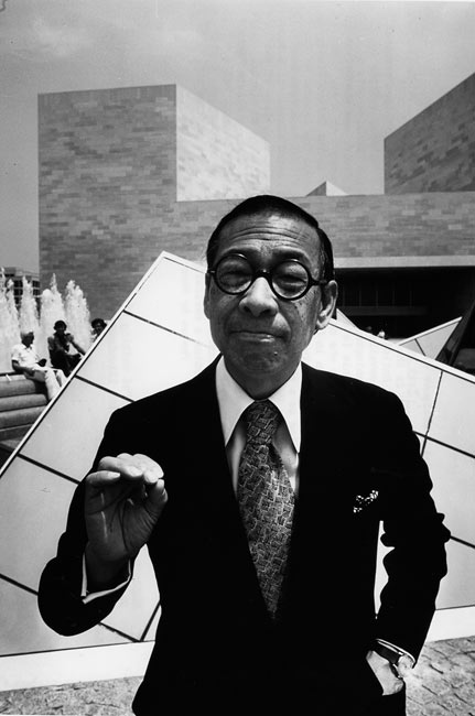 Ieoh Ming Pei à la National Gallery of Art de Washington, 1978