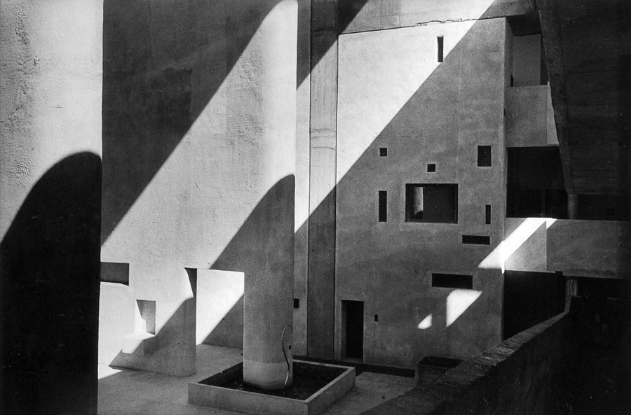 High Court, bâtiment conçu par Le Corbusier, Chandigarh, 1956