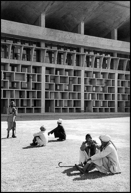High Court of Chandigarh, a building designed by Le Corbusier, 1956