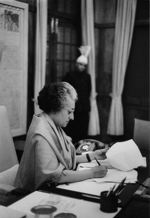 Indira Gandhi, Inde, 1971