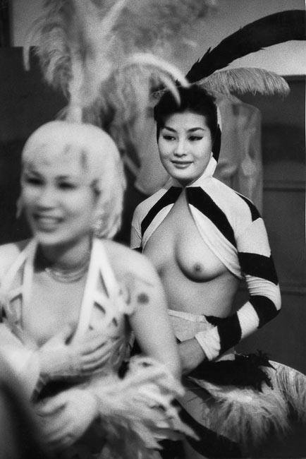 Dancer in Nichigeki Music Hall, Tokyo, 1958