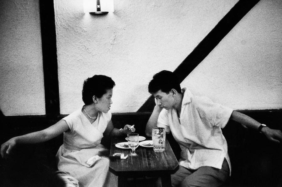 Restaurant, Tokyo, 1958