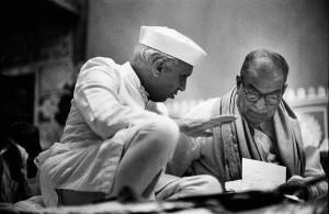 Jawaharlal Nehru, Inde, 1956