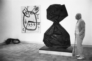 Joan Miro à la fondation Maeght, France, 1980