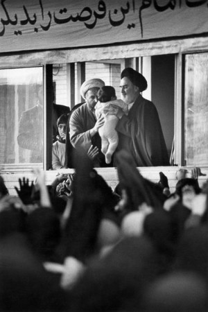 Ayatollah Khomeiny, Tehran, Iran, 1979