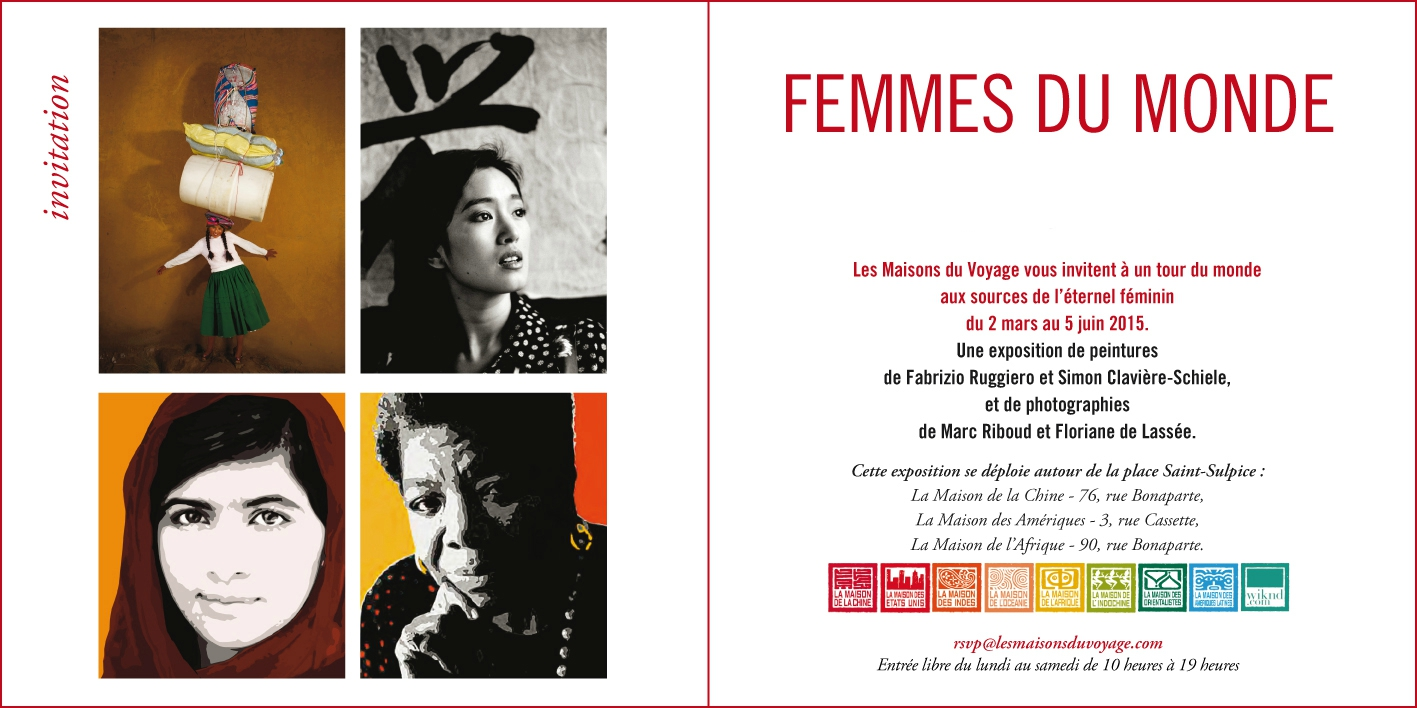 Group exhibition femmes du monde maison de la chine for Angelina maison de l afrique