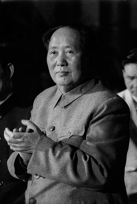 Mao Zedong, Beijing, China, 1957