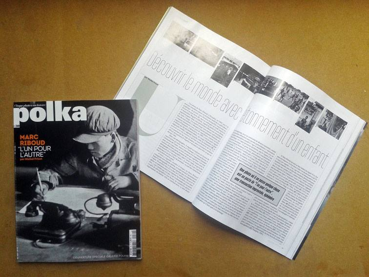 marc riboud michel frizot polka magazine