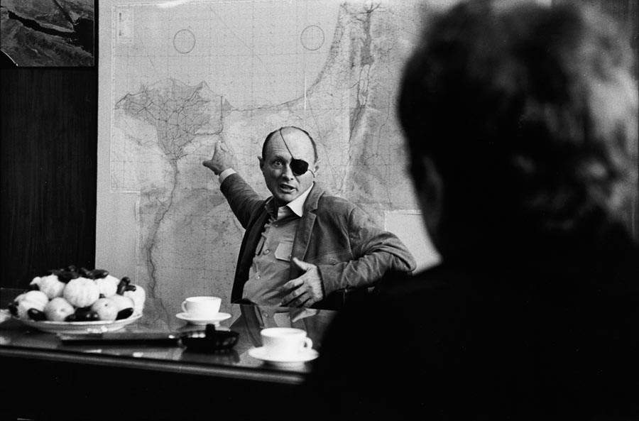 Moshe Dayan, 1969